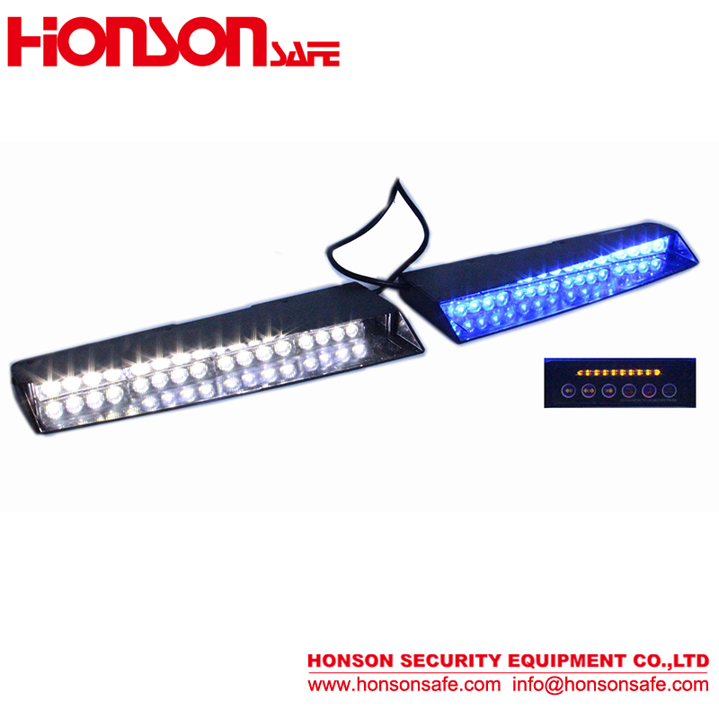 LED emergency traffic visor Lightbar 12 volt led dash warning lights
