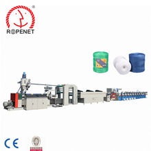 Whole Set of Plastic Split film Extruder/PP and PE rope machine