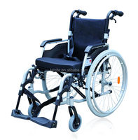 ce&iso 2016 european style hospital&home care manual wheelchair light folding aluminum wheelchairs