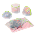6PCS/set Lingerie Bra Clothes Laundry Bag Care Set Mesh Underwear Underpants Wash Baskets Household Cleaning Tools Accessories