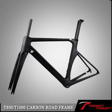New Full Carbon Matt Road Cyclocross Bicycle Frame , Fork , Headset - 51cm, 53cm, 55cm, 57cm carobn road frame bike free ship