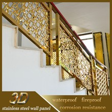 Luxurious Sanded Balcony Stainless Steel Railing Design