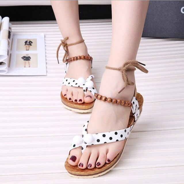 Free Shipping Casual Sandal For Girls 2016 With Flat heel