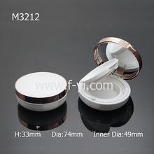 Hot sale young lady promotional plastic empty air cushion bb foundation case