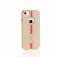 2017 Unique New products Electroplating Edge canvas TPU cases for Xiaomi MI6 mobile phone