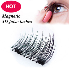 New arrived Hand made Silk Reusable micro-magnetic False Eyelashes Magnetic Lashes