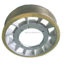 Mitsubishi elevator traction sheave,elevator lift wheel,spare parts