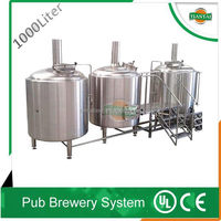 resturant microbrewery equipment/alcohol beer making machine