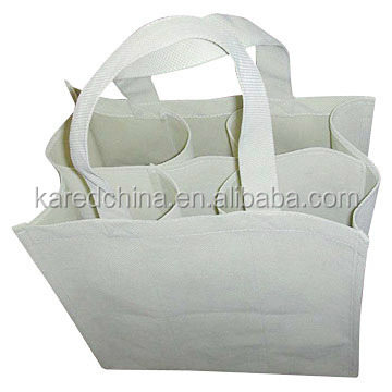 fabrics printed cheap wine bag 5 gallon water bottle holder for promotion