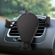 2018 <strong>car</strong> air vent mobile holder Wireless <strong>Charger</strong> For iPhone X 8 plus