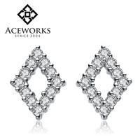 2016 Fashion modern silver stud earrings for men cheap silver earrings buy online