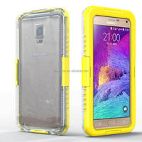 Bulk buy from china Mobile Phone accessories for Samsung Note 4 Waterproof stand case