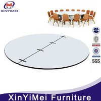8 feet plywood used round banquet tables