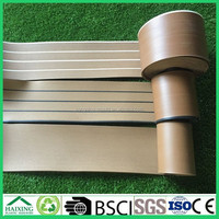 synthetic teak wood decking marine soft PVC for boat yacht