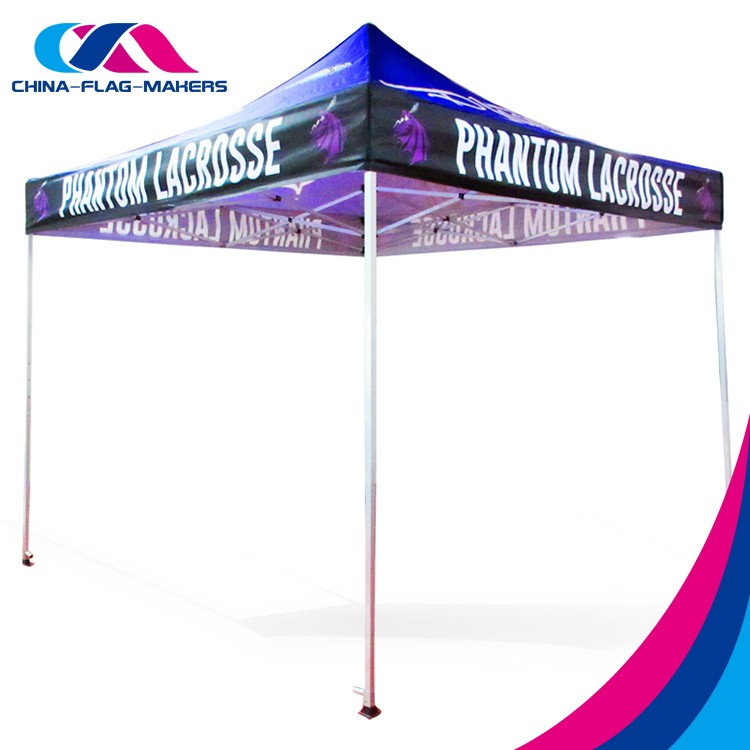 custom logo print promotion display 5x5 pop up tent for sale