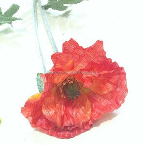 Silk flower poppy silk flower poppy suppliers and manufacturers at silk flower poppy silk flower poppy suppliers and manufacturers at alibaba mightylinksfo