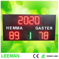 led electronic scoreboard display for sports used football scoreboards