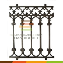 Used wrought iron pool fence panel for child safty