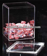Acrylic flat top box manufacture