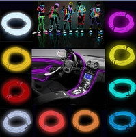 new hot sale decorative neon rope light el wire car