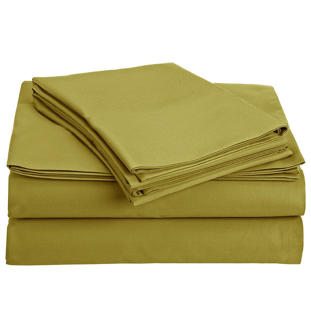 Eco-Friendly 300 Thread Count GOTS Certified Organic Cotton Sheet Set Bedding