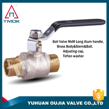 TMOK 1/2'' Full water Flow brass ball valve fit for water pipe line