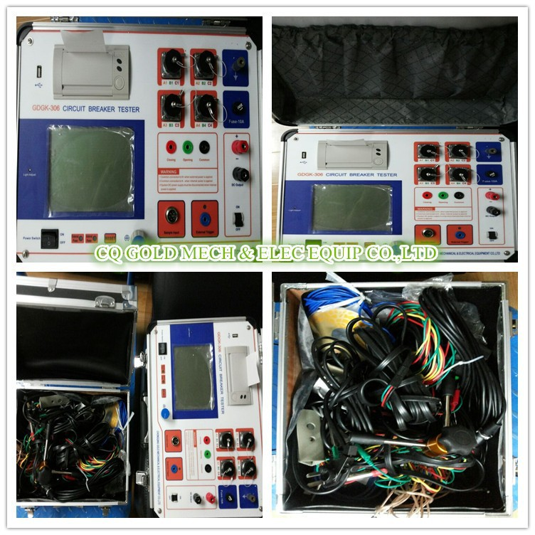 GDGK-306 IEC62271 Circuit Breaker Analyzer/Electric Disconnector Analyzer