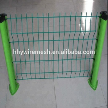 High Safety Fencing welded fence Triangle Bends Fence Welded Wire Mesh Fence