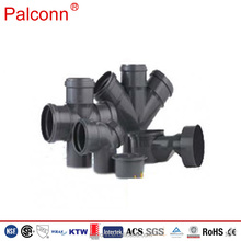 new product high pressure pvc pipe fittings sizes drainage pipe black plastic pipe