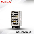 Hot sale NES-15-5 constant voltage AC DC switching power supply