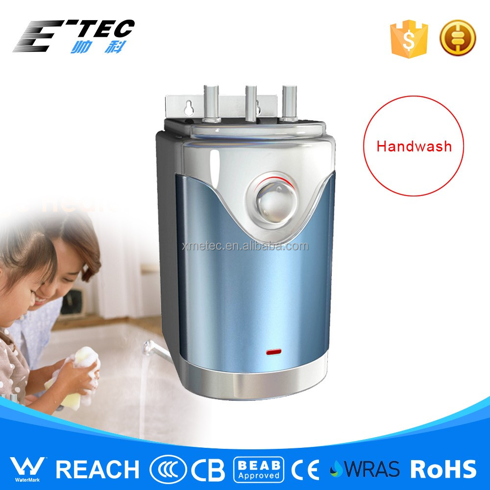 2.5L electric storage water heater compact mini size water heater for faucet/basin hot water wash