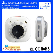 Rechargeable portable wireless mini wifi hidden 360 viewerframe mode ip camera
