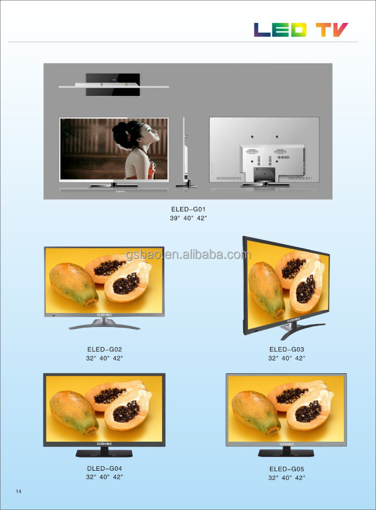50;55;60;65;70;80 inch Chinese led tv brands 1080 Full HD tv
