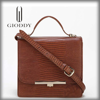 Lady luxury durable New style briefcase with secret compartment
