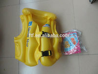 Personalized life jacket vest, inflatable life jacket, inflatable swimming vest life jacket