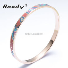 Ethnic Jewellery Supplier National Stainless Steel Bracelets Enamel Bangles