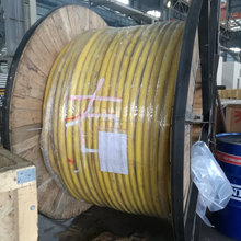 LV and MV moving crane control flat cable with integrated optical fibers STS, RTG RMG ASC, Prysmian Nexan Port crane