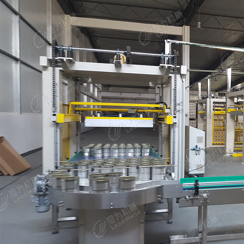 Automatic Palletizer/Stacking Machine For 10L Square Paint Bucket Can Line