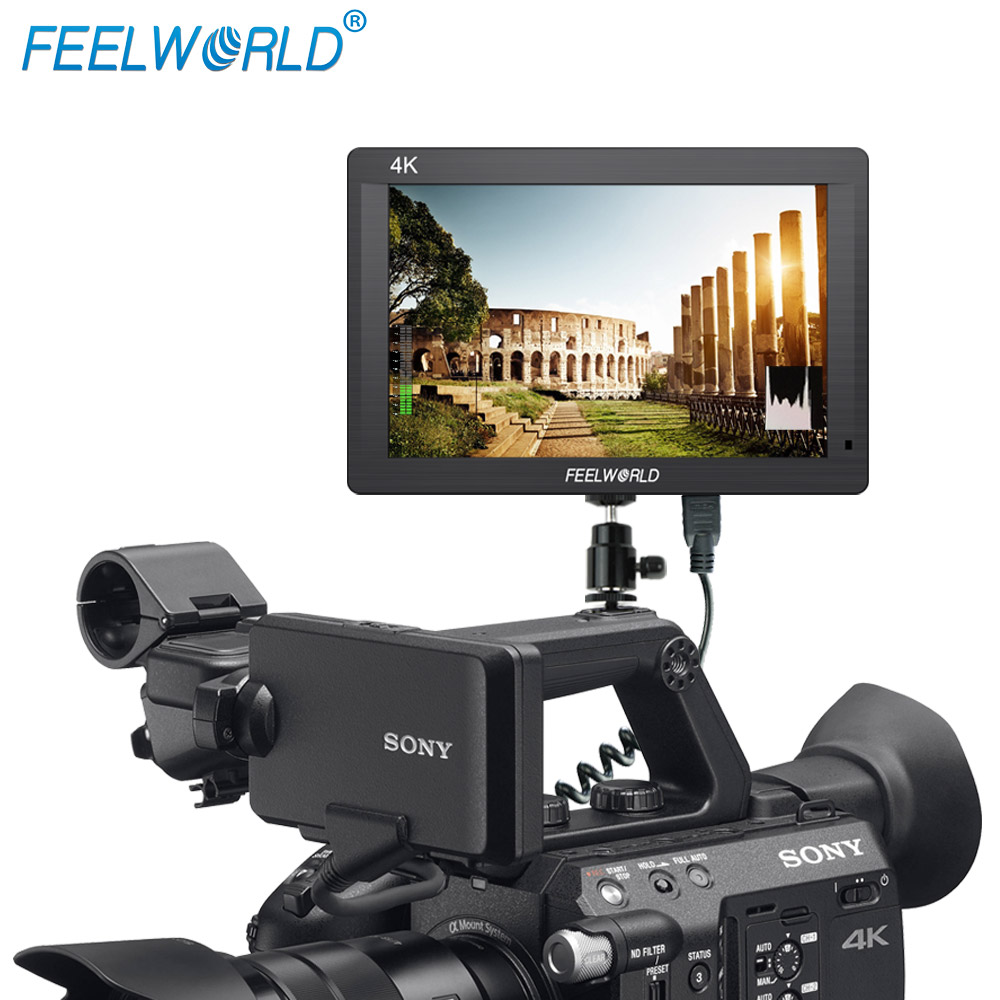 Feelworld 7 inch IPS 1920x1200 Full HD 4K HDMI input output camera stabilizer review