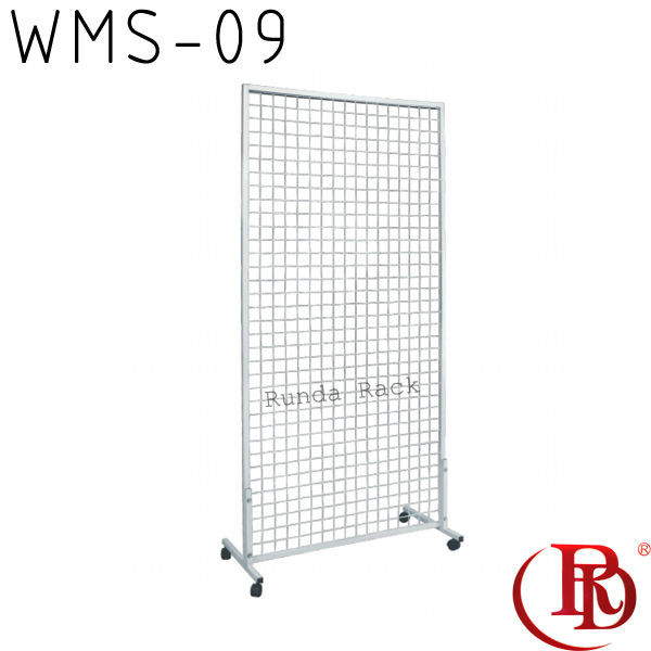 umbrella wire mesh racks stands portable t-shirt floor display stand