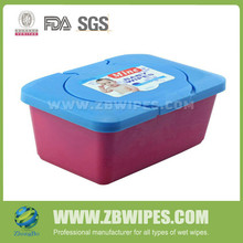 Wholesale Baby Wet Wipes With Plastic Cases