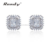 Halo Setting Latkan Daily Wear Earrings Cheap Wholesale Stud Earrings