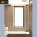 Simple single side hinge bathroom casement window