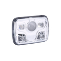 "7"" square led headlight 5x7 led sealed beam headlight"
