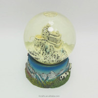 Resin Mountain Souvenir Type Polyresin Custom