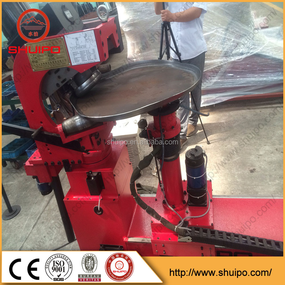 Tank head edge bending machine Tank head flanging machine dished end flanging machine