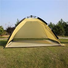 190T polyest pu 800mm waterproof tent 1-2 person four seasons camping tent quick setting tent