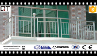 widely used adjustable high security balcony stainless steel railing
