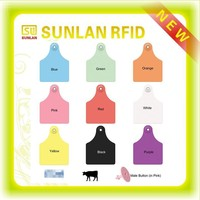 High quality RFID pet dog name identification tags