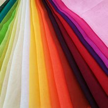 Dyed spun polyester voile fabric for hijab to Malaysia customer